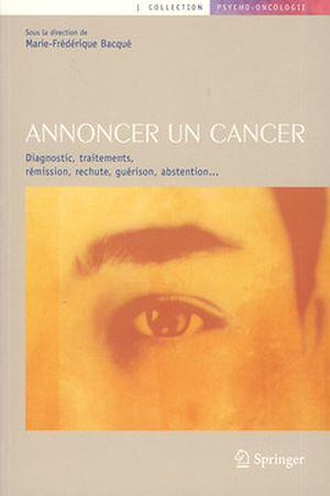 Téléchargez le livre :  Annoncer un cancer