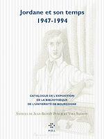 Télécharger cet ebook : Jordane et son temps (1947-1994)