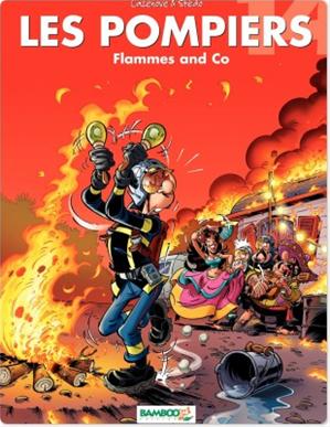 Téléchargez le livre :  Les Pompiers - Tome 14 - Flammes and Co