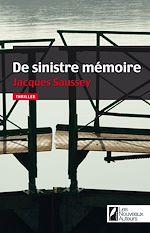 Télécharger le livre :  De sinistre memoire
