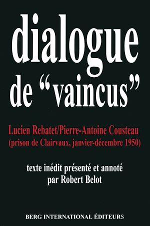 """Téléchargez le livre :  Dialogues de """"vaincus"""""""