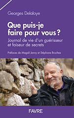 Télécharger le livre :  Que puis-je faire pour vous?
