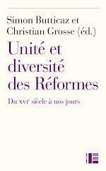 Télécharger le livre :  Unité et diversité des Réformes