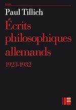 Télécharger le livre :  Ecrits philosophiques allemands