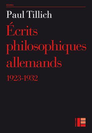 Téléchargez le livre :  Ecrits philosophiques allemands