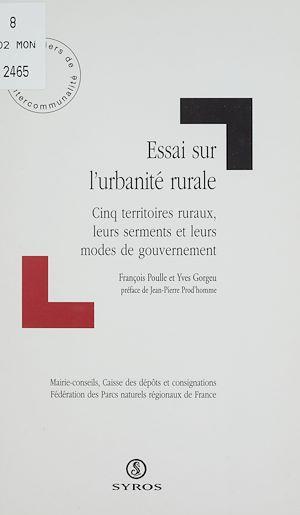 Téléchargez le livre :  Essai sur l'urbanité rurale
