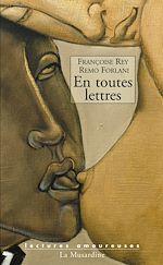Télécharger le livre :  En toutes lettres