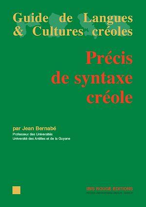 Téléchargez le livre :  Précis de syntaxe créole