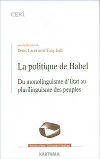 Télécharger le livre : La politique de Babel