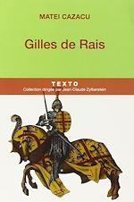 Télécharger le livre :  Gilles de Rais