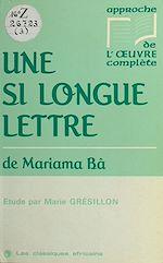 Télécharger cet ebook : «Une si longue lettre» de Mariama Bâ