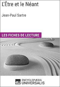 Télécharger le livre : L'Être et le Néant de Jean-Paul Sartre