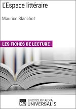 Télécharger cet ebook : L'Espace littéraire de Maurice Blanchot