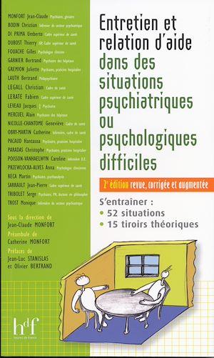 Téléchargez le livre :  Entretien et relation d'aide dans des situations psychiatriques ou psychologiques difficiles