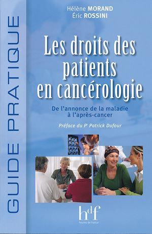 Téléchargez le livre :  Droit des patients en cancérologie