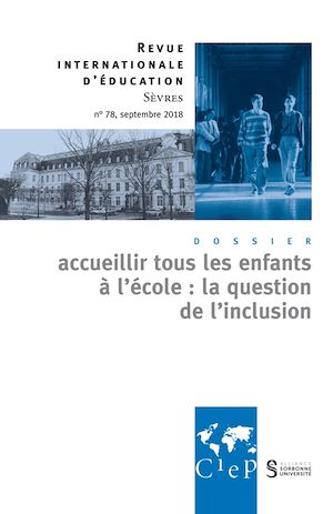 Téléchargez le livre :  Accueillir tous les enfants à l'école: la question de l'inclusion - Revue 78 - Ebook