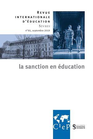 Téléchargez le livre :  La sanction en éducation -  Revue internationale d'éducation sèvres 81 - Ebook