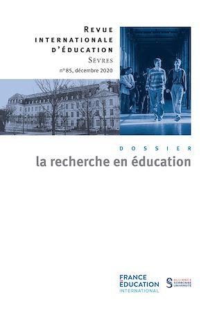 Téléchargez le livre :  La recherche en éducation - Revue internationale d'éducation sèvres 85 - Ebook