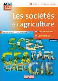 Télécharger le livre : Les sociétés en agriculture