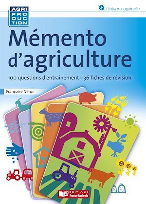 Téléchargez le livre :  Mémento d'agriculture