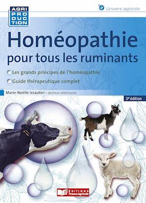 Téléchargez le livre :  Homéopathie pour tous les ruminants - 3e édition