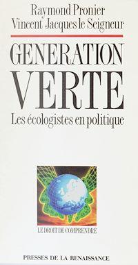 Télécharger le livre : Génération verte