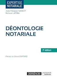 Télécharger le livre : Déontologie notariale - 3e édition