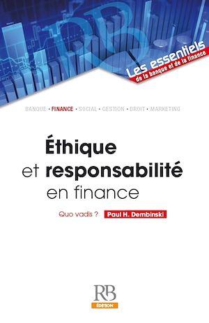 Téléchargez le livre :  Éthique et Responsabilité en Finance