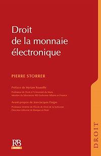 Télécharger le livre : Droit de la monnaie électronique