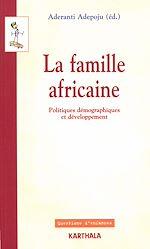 Télécharger le livre :  La famille africaine