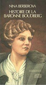 Télécharger le livre :  Histoire de la baronne Boudberg