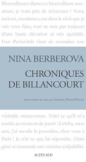 Téléchargez le livre :  Chroniques de Billancourt