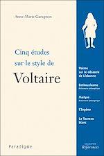 Télécharger le livre :  Cinq études sur le style de Voltaire