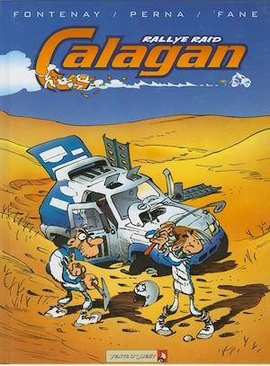 Téléchargez le livre :  Calagan - Rallye raid - Tome 01