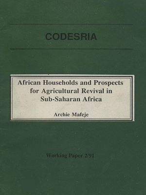 Téléchargez le livre :  African households and prospects for agricultural revival in Sub-Saharan Africa