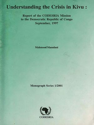 Téléchargez le livre :  Understanding the Crisis in Kivu