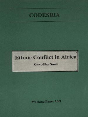 Téléchargez le livre :  Ethnic conflict in Africa