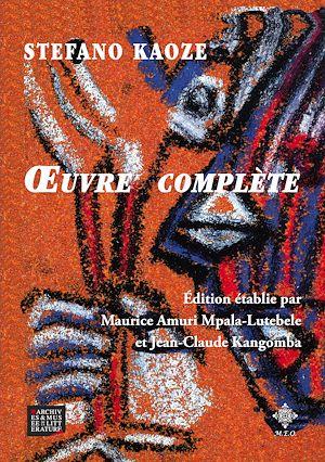 Téléchargez le livre :  Stefano Kaoze : œuvre complète