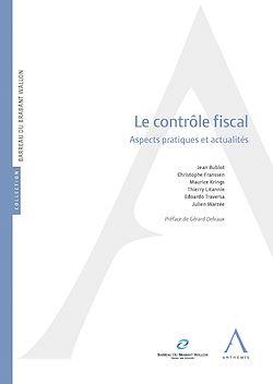 Téléchargez le livre :  Le contrôle fiscal