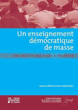 Téléchargez le livre :  Un enseignement démocratique de masse