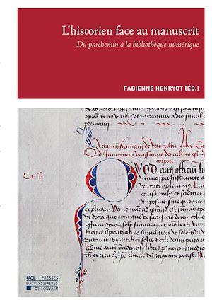 Téléchargez le livre :  L'historien face au manuscrit