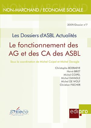 Téléchargez le livre :  Le Fonctionnement des AG et des CA des ASBL
