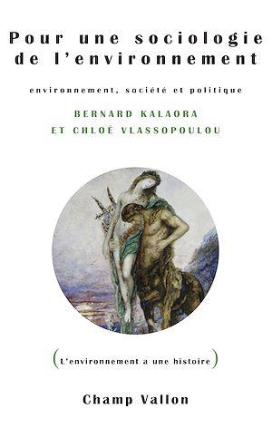 Téléchargez le livre :  Pour une sociologie de l'environnement