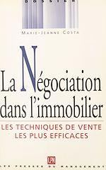 Télécharger cet ebook : La négociation dans l'immobilier