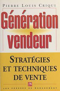 Télécharger le livre : Génération vendeur : stratégies et techniques de vente