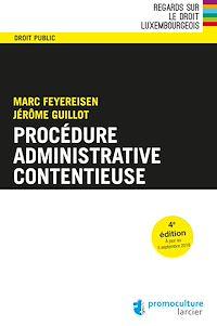 Télécharger le livre : Procédure administrative contentieuse