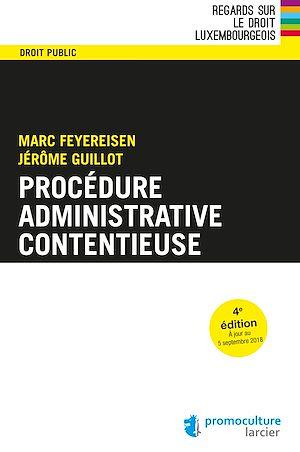 Téléchargez le livre :  Procédure administrative contentieuse