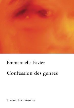 Téléchargez le livre :  Confession des genres