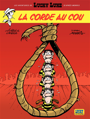 Téléchargez le livre :  Les aventures de Lucky Luke d'après Morris - tome 2 - La corde au cou