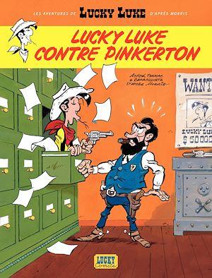 Téléchargez le livre :  Les aventures de Lucky Luke d'après Morris - tome 4 - Lucky Luke contre Pinkerton